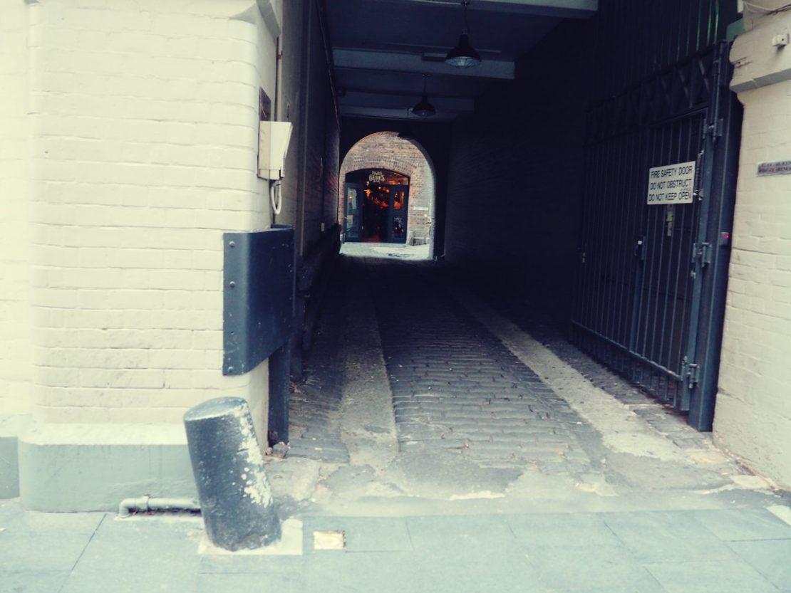 Papa Gede's Bar Entrance