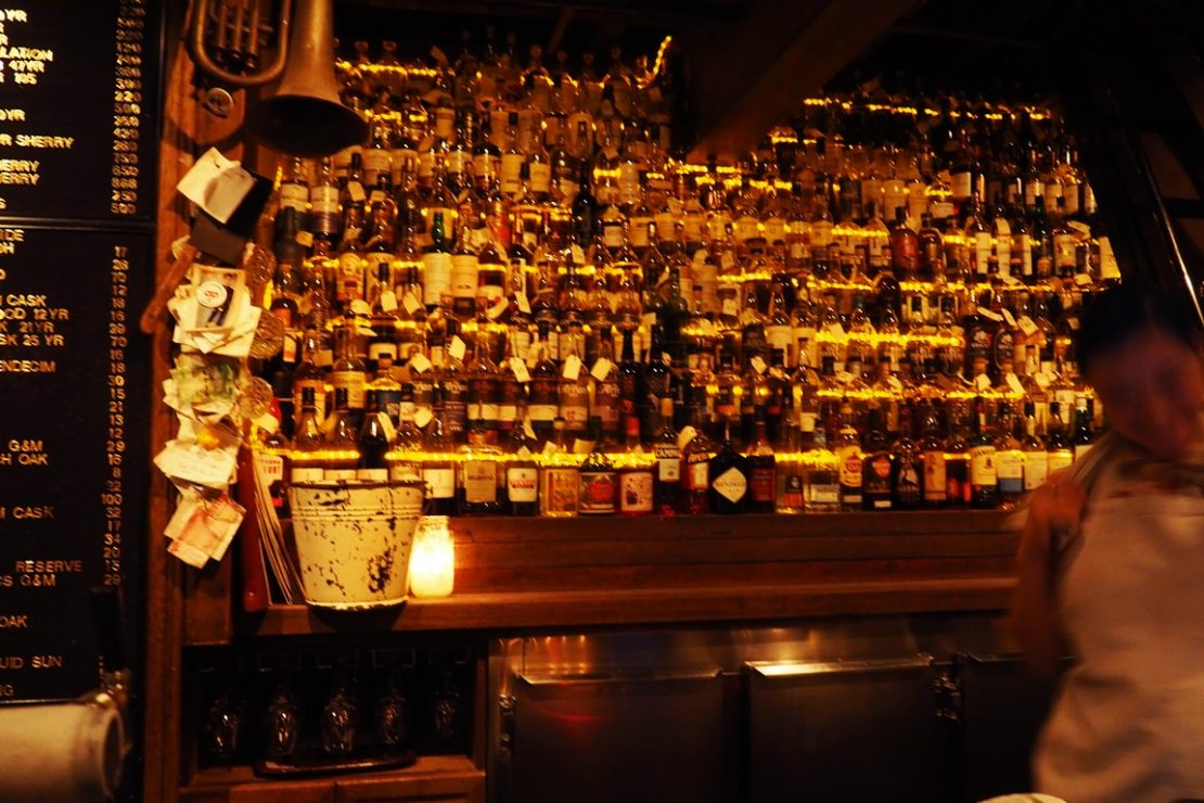 The Baxter Inn, Whiskey Collection