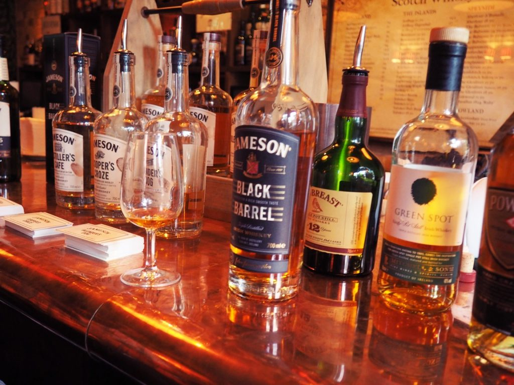 Irish Whiskies - Undercover Bars