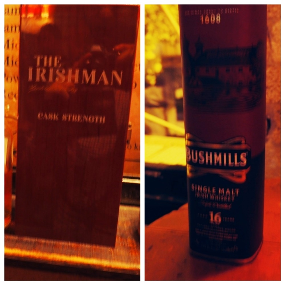 Irishman and Bushmill 16yr Single Male undercover bars secret bars